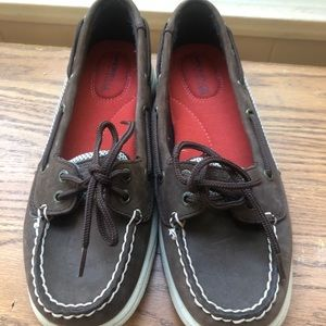 Womens Sperry Top-sider Sz 6,5M Brown